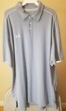 Under Armour Classic Sky Blue Xl Golf Polo Shirt Package