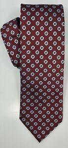 🆕️ * ERMENEGILDO ZEGNA * 100% Silk Italy Men's Necktie Tie