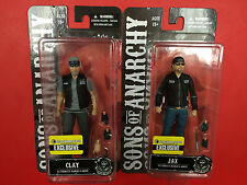 Sons of Anarchy Exclusive Set of 2 Clay Morrow & Jax Teller Figures by Mezco