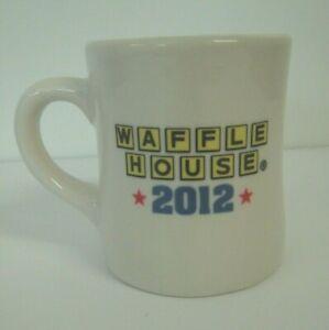 2012 Waffle House Restaurant Ware Tuxton Diner Style Coffee Mug/Cup 8 Oz