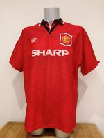 Vintage Manchester United 1994 1995 1996 home football shirt Umbro size XL