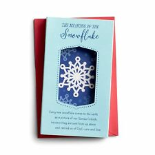 DaySpring Snowflake - 12 Christmas Pop-Up Boxed Cards