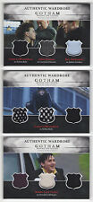 2016 Cryptozoic GOTHAM Season 1 Triple Wardrobe Costume Card Set TM1 TM2 TM3