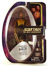 """2003 Star Trek 7"""" LIEUTENANT THOMAS RIKER figure Art Asylum Diamond Select toys"""