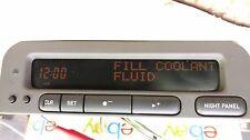 99-03 SAAB 93 SID2 INFORMATION RADIO CLOCK DISPLAY OEM 12806119