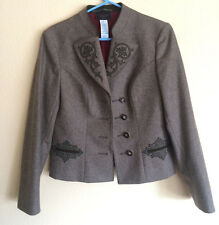 WOMENS CHRISTIAN LACROIX BLAZER, WOOL BLEND, MADE IN ITALY, SZ US L