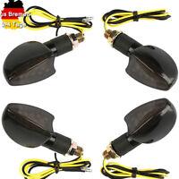 4 Stück 12V LED Blinker Miniblinker Universal Motorrad Roller mit E-Prüfzeichen