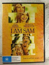 I AM SAM DVD - Michelle Pfeiffer - Sean Penn - DRAMA - Region 4
