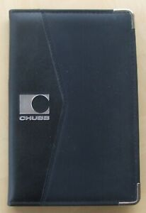 Notebook 23 by 15 cm with pad of 40 blank lined pages.15mm thick and useful slip
