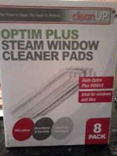 Set of 8 Genuine OPTIM PLUS RV0813  RV0831 Steam Window Cleaner PADS