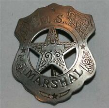 US MARSHAL Arizona Gunsmoke Tombstone OLD WEST WESTERN BADGE Vintage Style New