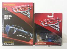 Cars 3 Disney Pixar Jackson Storm solo minilibro 2017 Mattel 1/55 Maclama