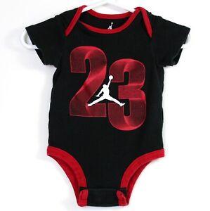 "Micheal Jordan 23 Baby Bodysuit T-shirt Size 3-6 months Chest 16"" Length 13"" EUC"