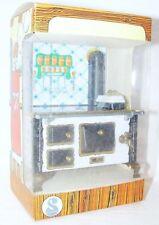 Schopper Germany Dollhouse Miniature HISTORIC KITCHEN COOKING SET Tin Toy MIB`80