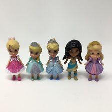 LOT of 5 DISNEY My First Princesses Princess Figures - Mini Toddler Dolls