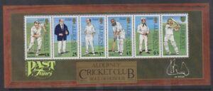 Alderney - 1997, Cricket Foglio - Nuovo senza Linguella - Sg MSA101