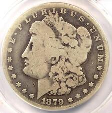1879-CC Morgan Silver Dollar $1 - ANACS G4 Details (Good). Rare Carson City Coin