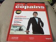 """CD-LIVRE """"SALUT LES COPAINS 1968"""" Claude FRANCOIS, Johnny HALLYDAY, Nicoletta"""