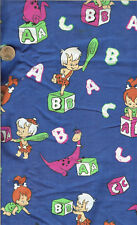 """RARE! FLINTSTONES PEBBLES/BAMBAM - REL. 1991 - BTFQ - 18""""X22"""""""