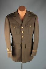 Vtg Wwii 5th Us Army Officer's Tunic M Long 40s Ww2 Uniform Jacket #7554