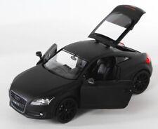 BLITZ VERSAND Audi TT Coupe schwarz matt black Welly Modell Auto 1:24 NEU & OVP