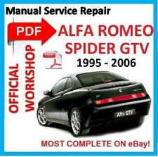 buy alfa romeo gtv car service repair manuals ebay rh ebay co uk 1986 Alfa Romeo Spider 1998 Alfa Romeo Super Car