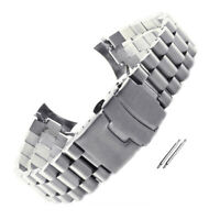 Curved Stainless Steel Bracelet Replacement Watch Band fit Seiko7S26 SKX007 015