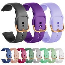 Reloj Banda De Silicona Para Samsung Galaxy 41mm Active Reloj 3 2 40 42 44mm Correa