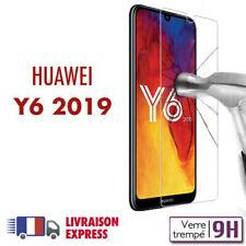 Huawei Y6 2019 verre trempé protection ecran vitre trempé huawei Y6 2019