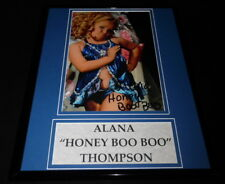 Alana Thompson Signed Framed 11x14 Photo Display AW Here Comes Honey Boo Boo