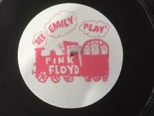 "7""  FELT SLIPMAT   PINK FLOYD  SEE EMILY PLAY"
