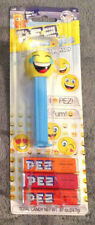 """2018 Pez Emojis Candy & Dispenser LOL """"LOL'ING"""" FACE - BRAND NEW IN PACKAGE"""