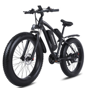 Electric Bike 1000W 48V Motor 4.0 Fat Tire Mountain Ebike Snow Bike