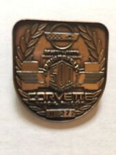 1995 Indy 500 Bronze Pit Badge honoring Corvette. w/free ticket holder