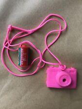 Vintage Eraser Rubber - Pink Camera & Camera Film - 70s 80s