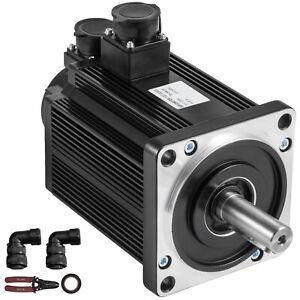 Servo Motor 1.5KW 5NM AC Servo Driver Kit 220V f CNC Mill Machine VEVOR