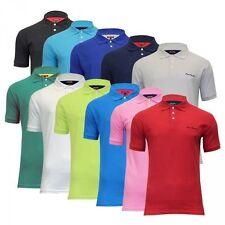 Pierre Cardin Bequeme Sitzende Herren-Freizeithemden & -Shirts mit Kurzarm-Ärmelart aus Baumwolle