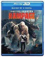 Rampage (3D Blu-ray Disc ONLY, 2018)