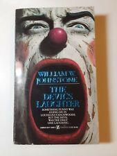 The Devil's Laughter by William W. Johnstone 1st Print VG  Paperback Zebra