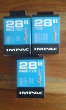 700c Bike Inner Tube IMPAC Sv28 Race 700x20-25c Presta Black