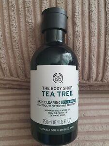 The Body Shop Tea Tree Skin Clearing Body Wash ~ 250ml ~  (Vegan)