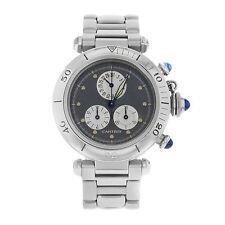 Cartier Unisex Armbanduhren mit Chronograph