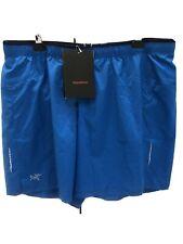 Arc'teryx Adan Blue Endorphin Running Shorts XL New with tags