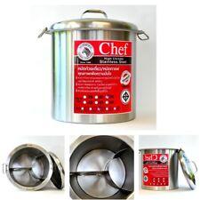 Zebra Stainless Steel Stockpot 36cm Chef Model Food Drink Thai Noodle Soup Pot