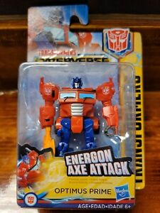 Transformers Cyberverse Action  Optimus Prime Action Figure - Damaged Box *NEW*