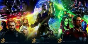 """Authentic 2017 SDCC - Marvel Avengers Infinity War Poster Set of 3 - 13"""" x 20"""""""