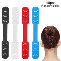 10pc Adjustable Anti-slip Earloop Buckle Anti-Slip Earloop Face Cover Hooks