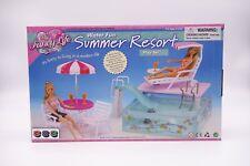 My Fancy Life (Gloria) Summer Resort Swimming Pool, Doll furniture/(2578)