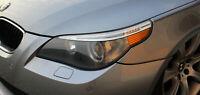 B003 US Style Scheinwerfer Aufkleber Folie Set für BMW E60 E61 M Paket LCI