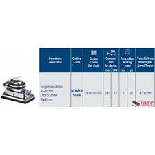 LEVIGATRICE ORBITALE ABAC Art.55 90x60mm COMPRESSORE 6 BAR FALEGNAMERIA 8000rpm